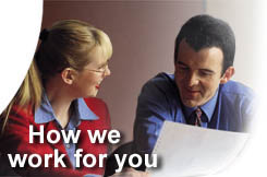 How we work for you